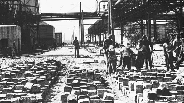 Κρατούμενοι του Άουσβιτς σε εργοστάσιο της IG Farben