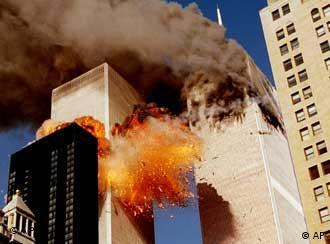 Фото из архива: Нью-Йорк, 11 сентября 2001 года