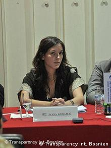 Ivana Korajlic (Transparency Int. Bosnien)