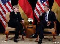 دیدار باراک  اوباما و آنگلا مرکل
