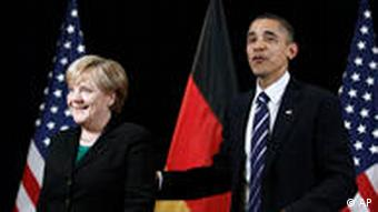 President Barack Obama meets with German Chancellor Angela Merkel on the sidelines of the G-20 summit in Seoul, South Korea, Thursday, Nov. 11, 2010. (AP Photo/Charles Dharapak)