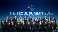 G20 Seoul Gruppenfoto