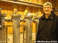 Dr. Ernst Huenges, director del Centro de Investigación sobre Geociencia de Potsdam.