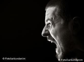 Schreiender Mann (Foto: Fotolia)