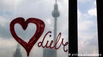 Berlin Liebe Aus dem Palast betrachtet
