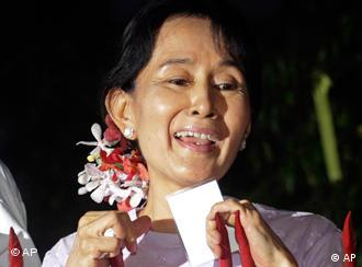Myanmar's pro-democracy leader Aung San Suu Kyi is free but there are still 2,000 political prisoners