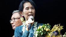 Aung San Suu Kyi fordert Meinungsfreiheit in Myanmar