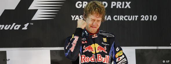 NO FLASH Formel 1 Sebastian Vettel Red Bull Weltmeister