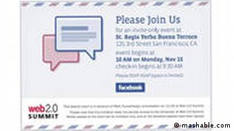 Facebook Invitation