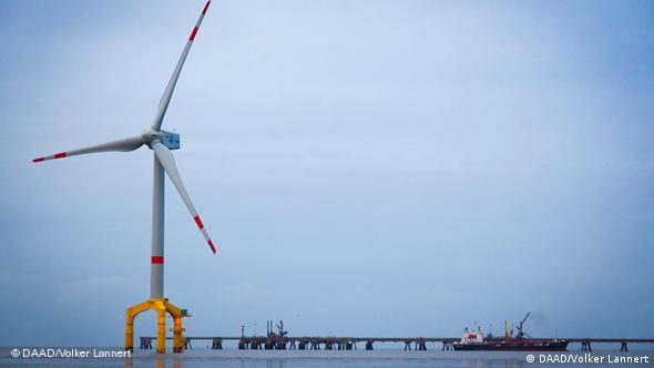 Flash-Galerie DAAD Offshore-Windenergie-Nutzung