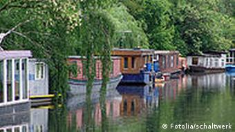 Houseboats on the Spree