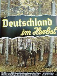 Плакат фильма Германия осенью