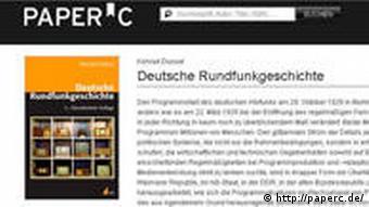 Книга История немецкого радио на сайте PaperC