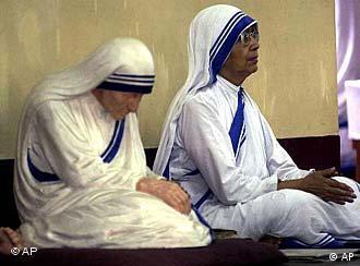 Oración con la Madre Teresa.