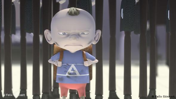 Кадр из мультипликационного фильма Аполло (Apollo) Феликса Гённерта