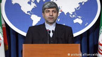 Der Sprecher des iranischen Außenministeriums bestätigt die Inhaftierung von zwei deutschen Journalisten