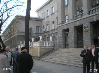 Здание МВД в Кишиневе