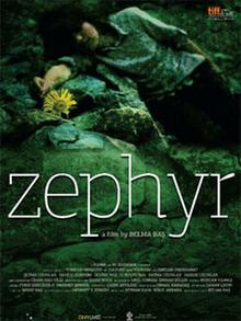 Film poster for Zephyr, directed by Belma Bas