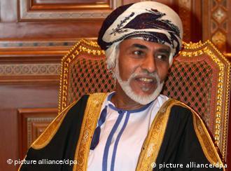 Omans Sultan Qabus (Foto: dpa)