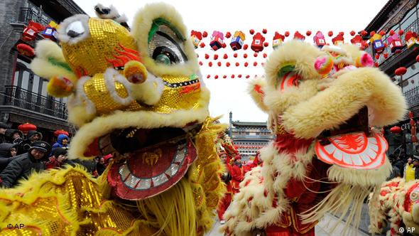 Many celebrate the Chinese New Year with food, dancing and fireworks