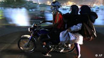 Haddsch Islam Pilger Mekka Motorrad