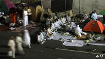 Haddsch Jamarat Islam Pilger Mekka Zelte