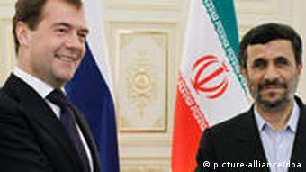 Iran Ahmadinedschad Medwedev