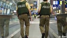 Terror / Deutschland / Flughafen / Polizei / Bundespolizei