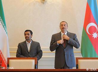 محمود احمدینژاد و الهام علیاف