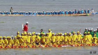 Millions are expected to watch the races down the Tonle Sap River