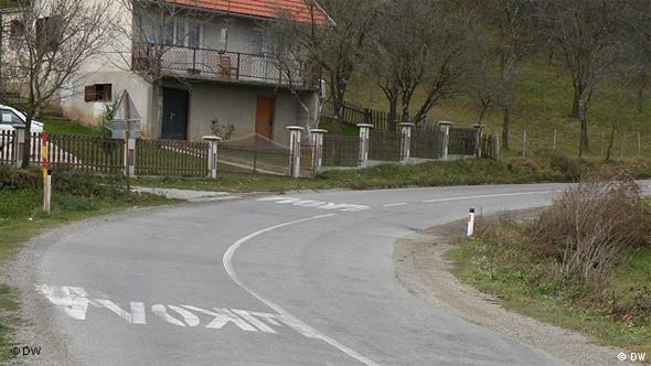 Strasse in Bosnien Flash-Galerie