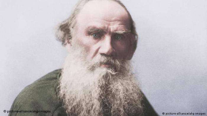 Портрет Толстого