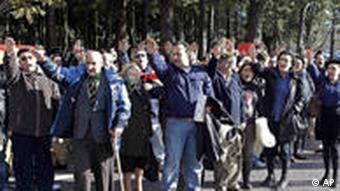 Spanien Anhänger von Franco November 2010