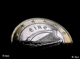 An Irish euro coin