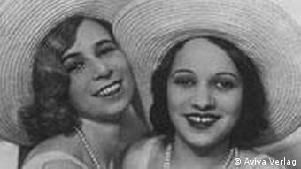 The Stone Sisters: Peggy Stone (r) with best friend Laelia Rivlin