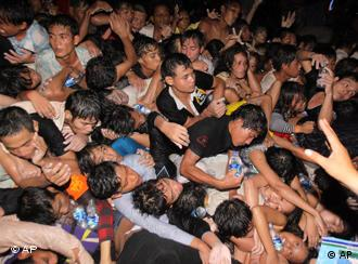 The cause of the stampede in Phnom Penh remains unclear