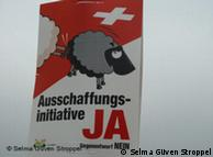 Controversial advertising campaign of right-wing Swiss People's Party