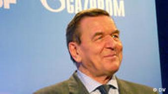 Шрёдер в октябре 2010 года на праздновании 20-летия сотрудничества компаний BASF и Газпром