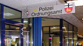 The police station GABI in Bonn's main station
