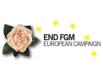Logo of Amnesty International's EndFGM campaign