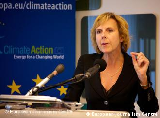 Connie Hedegaard, Comisaria de la Unión Europea (EU) para la Acción por el Clima.