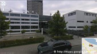 Screenshot Google Maps Deutsche Welle