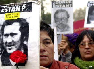 Mindestens 3000 Menschen starben während der Pinochet Diktatur