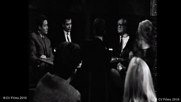 Фриц Бауэр в телевизионном дискуссионном клубе
