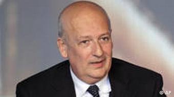 Italien Kulturminister Sandro Bondi