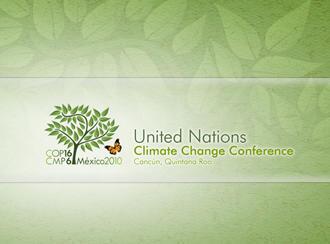 Dossierbild Klimagipfel Cancun Mexiko 2010 Logo