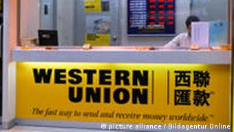 Change - Wechselstube der Western Union Bank, Kowloon, Hongkong (Foto: picture alliance/dpa)
