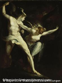 'Satan and Death with Sin intervening' by Henry Fuseli, 1802