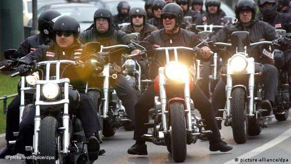 German police target criminal biker gangs | Germany| News and in