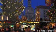 Dresden Weihnachtsmarkt Frauenkirche